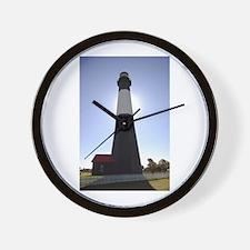 Tybee Island Lighthouse Wall Clock