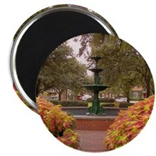 Savannah GA Fountain Magnet