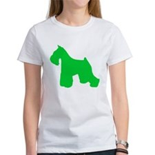 Miniature Schnauzer St. Patty's Day Tee