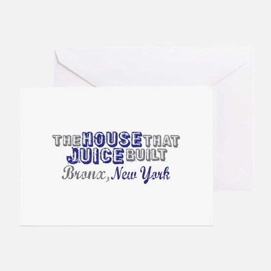House that Juice Built Greeting Card