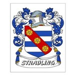 Stradling Coat of Arms Small Poster