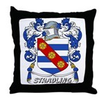 Stradling Coat of Arms Throw Pillow