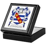 Stradling Coat of Arms Keepsake Box