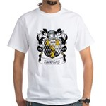 Travers Coat of Arms White T-Shirt