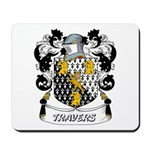 Travers Coat of Arms Mousepad