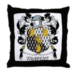 Travers Coat of Arms Throw Pillow