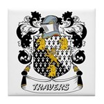 Travers Coat of Arms Tile Coaster