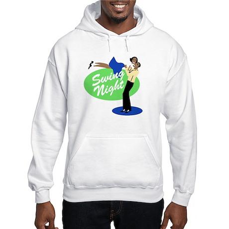 Swing Night Hooded Sweatshirt