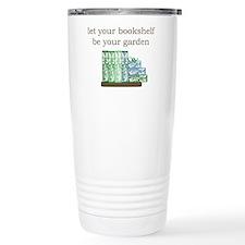 Bookshelf Garden - Travel Coffee Mug