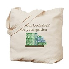 Bookshelf Garden - Tote Bag