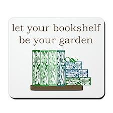 Bookshelf Garden - Mousepad