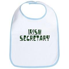 Irish Secretary Bib