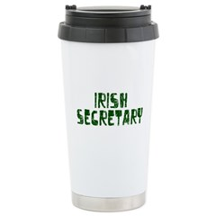 Irish Secretary Stainless Steel Travel Mug