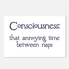Consciousness Naps Postcards (Package of 8)