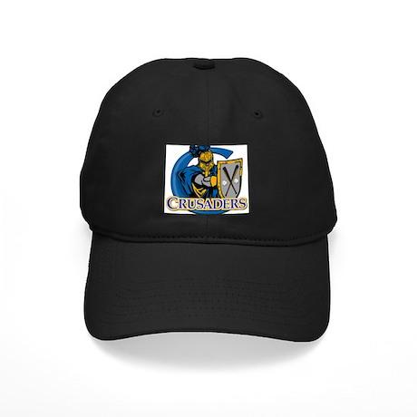 Crusaders Baseball Black Cap