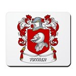 Tuther Coat of Arms Mousepad