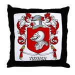 Tuther Coat of Arms Throw Pillow