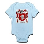 Tuther Coat of Arms Infant Creeper