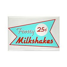 Frosty Milkshakes Rectangle Magnet