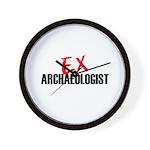 EX Archaeologist Wall Clock