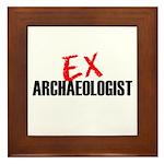 EX Archaeologist Framed Tile