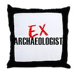 EX Archaeologist Throw Pillow
