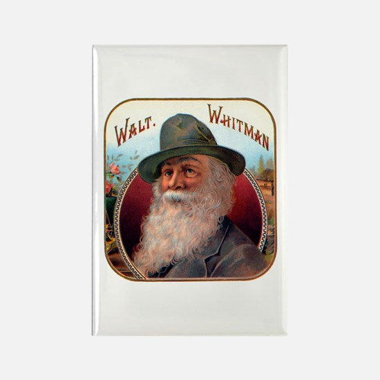 Walt Whitman Rectangle Magnet