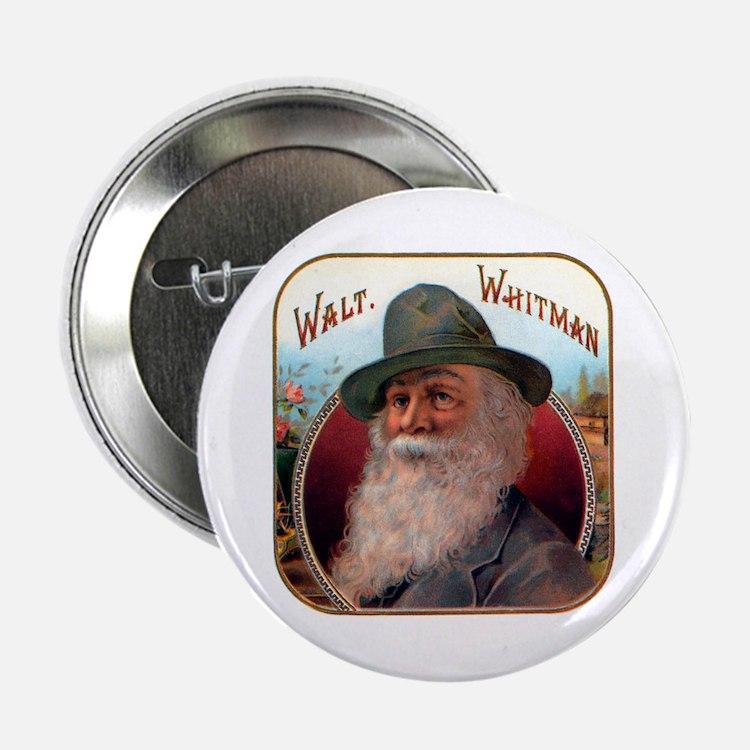 Walt Whitman Button