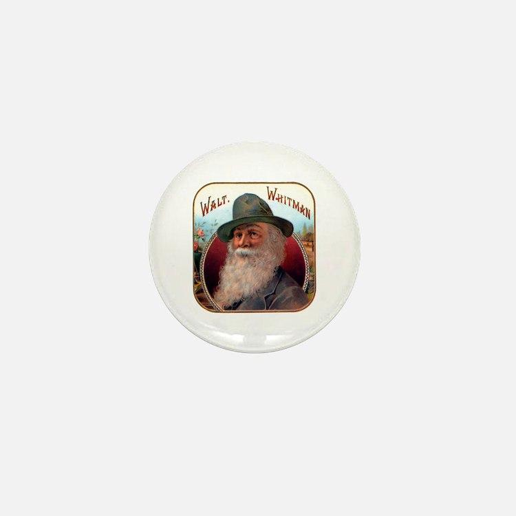 Walt Whitman Mini Button