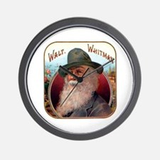 Walt Whitman Wall Clock