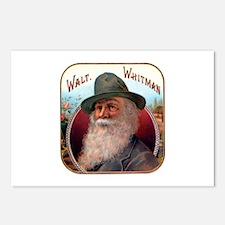 Walt Whitman Postcards (Package of 8)