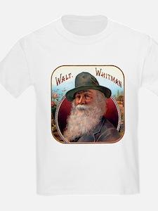 Walt Whitman (Front) Kids T-Shirt