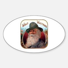 Walt Whitman Oval Decal