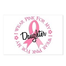 I Wear Pink for My Daughter 38 Postcards (Package