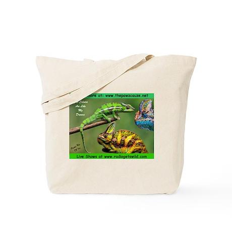 Chameleons Tote Bag
