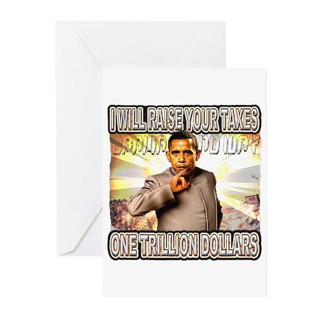 anti barack obama Greeting Cards (Pk of 10)