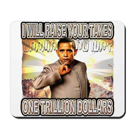 anti barack obama Mousepad