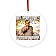 anti barack obama Ornament (Round)