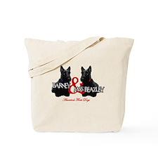 Barney & Miss Beazley Tote Bag