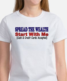 SPREAD THE WEALTH Tee
