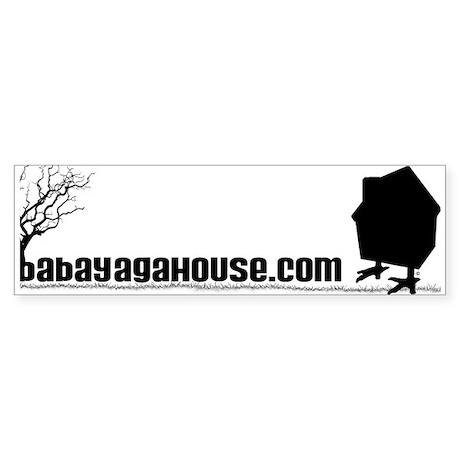 Baba Yaga House Bumper Sticker