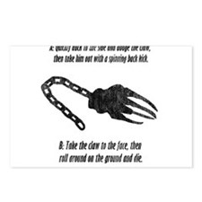 Deathclaw Postcards (Package of 8)