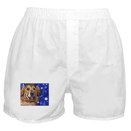 Portrait of a Golden Boxer Shorts
