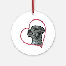 Heartline NMrlc Ornament (Round)