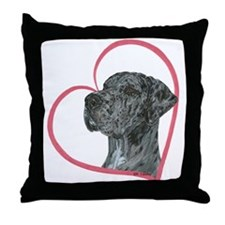 Heartline NMrlc Throw Pillow