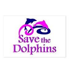 Save the Dolphins Postcards (Package of 8)