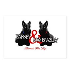 Barney & Miss Beazley Postcards (Package of 8)