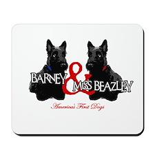 Barney & Miss Beazley Mousepad