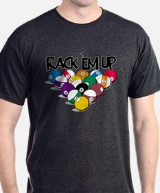 Rack Em Up Pool T-Shirt