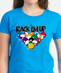 Rack Em Up Pool Tee